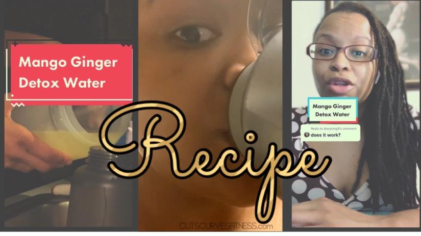 Mango Ginger Detox Water Recipe