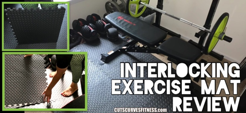 Cuts & Curves Fitness Review: ProsourceFit's Exercise Mat Home Gym Flooring