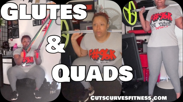 4 Exercises for Stronger Glutes & Quads. There is no shortage of effective lower-body exercises. Make your booty and thighs firmer and stronger with the right exercises. Working different muscles from different angles can help. Do this workout in both the gym or at home.