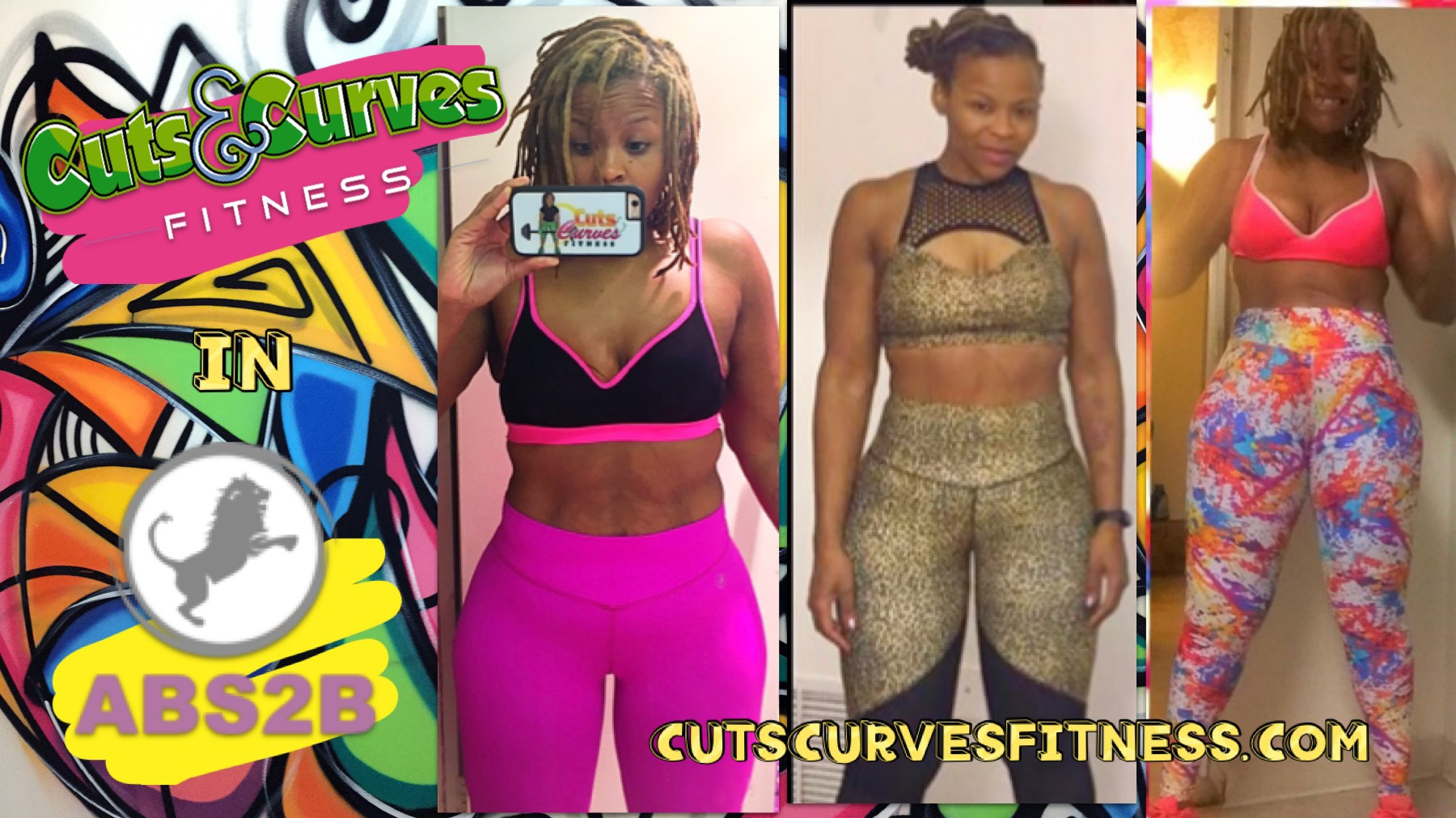 Cuts & Curves Fitness in Abs2b Fitness Apparel